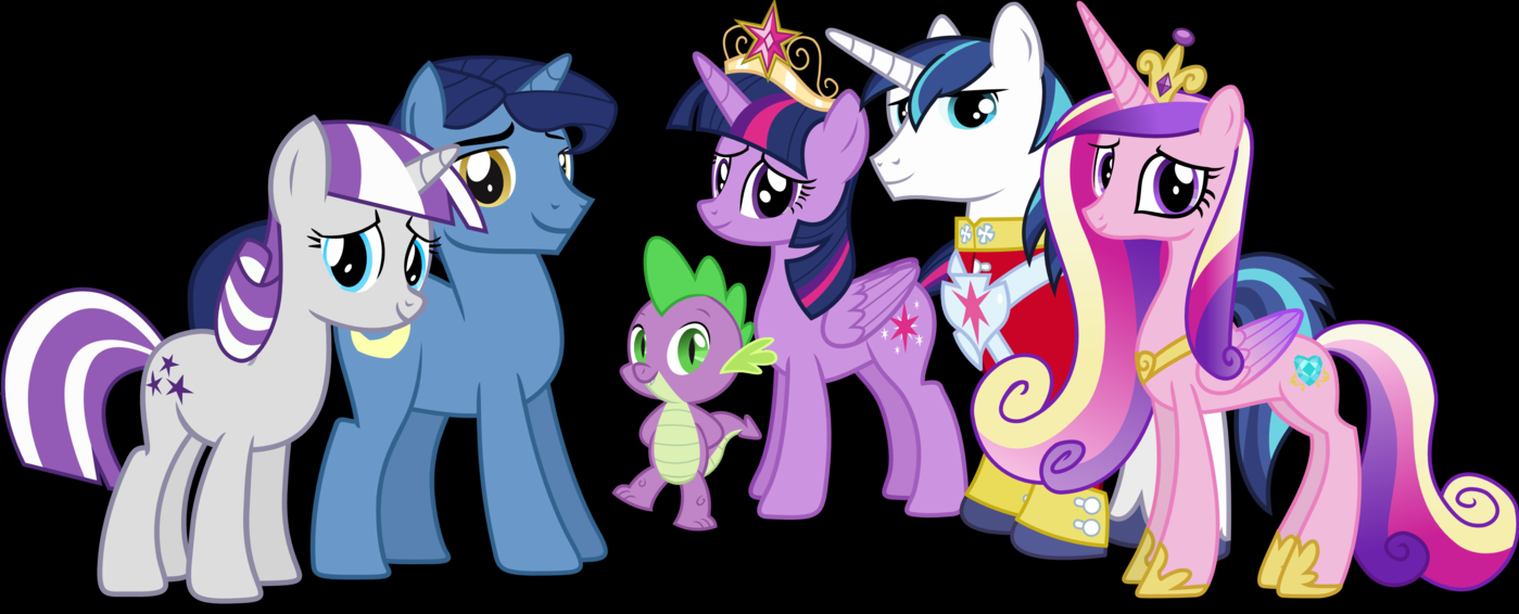 My little pony friendship is magic family tree - photo#17
