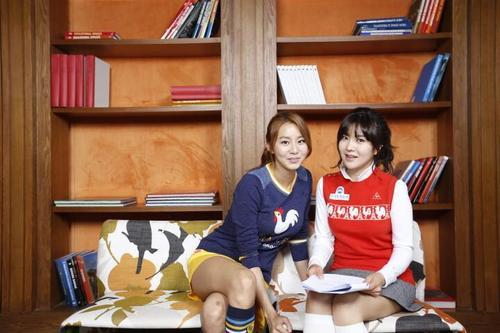 UEE and Ahn Shin-A for Le Coq Sportif Korea
