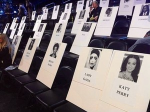 VMA seating arrangement