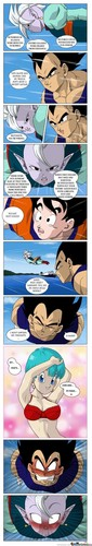 Vegeta Du dirty mind