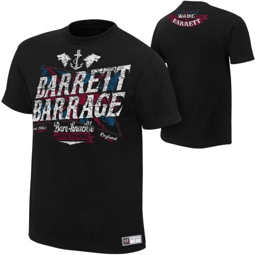 Wade Barrett Barrage Men's t-shirts -wwegifts.com