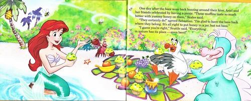 Walt Disney Bücher - The Little Mermaid's Treasure Chest: Bee Nice