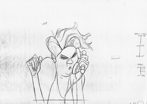 Walt Дисней Sketches - Madame Medusa