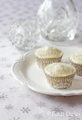 White Cupcake - colors photo