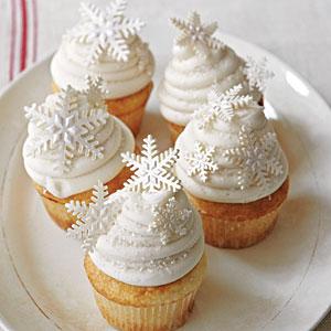 White कप केक