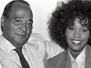 Whitney Houston And Her Father, John