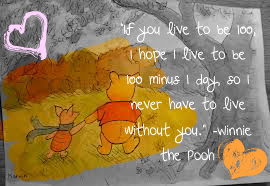 O Ursinho Puff wallpaper with a sign called Winnie the Pooh Quote