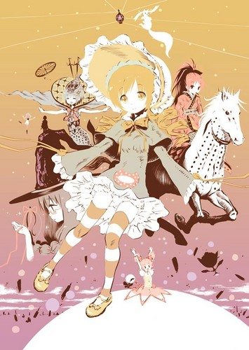Puella Magi Madoka Magica 壁纸 probably containing 日本动漫 called Witch Form Cosplay