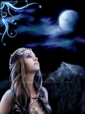 নেকড়ে Moon