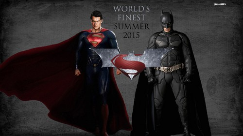 Man of Steel fond d'écran containing a manteau entitled World's Finest Fanmade Poster #3