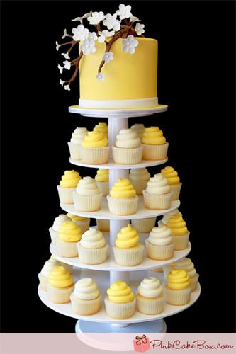 Yellow カップケーキ