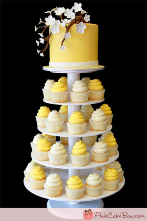 Yellow কাপকেক ♥