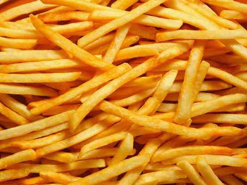 Yellowish brown Fries