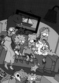Zombie Simpsons - zombies photo