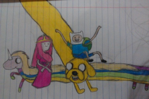 adventure time (my drawing)