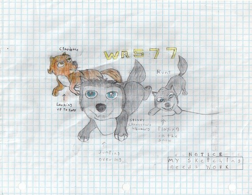 alpha and omega 2 pups - alpha-and-omega Fan Art
