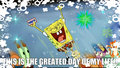 best day ever - spongebob-squarepants fan art