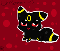 chibi umbreon - umbreon photo
