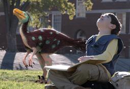 dan and a raptor