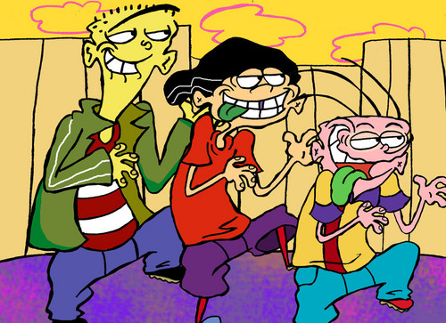 Ed, Edd and Eddy پیپر وال with عملی حکمت called ed edd n eddy
