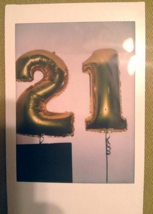 frances 21st birthday
