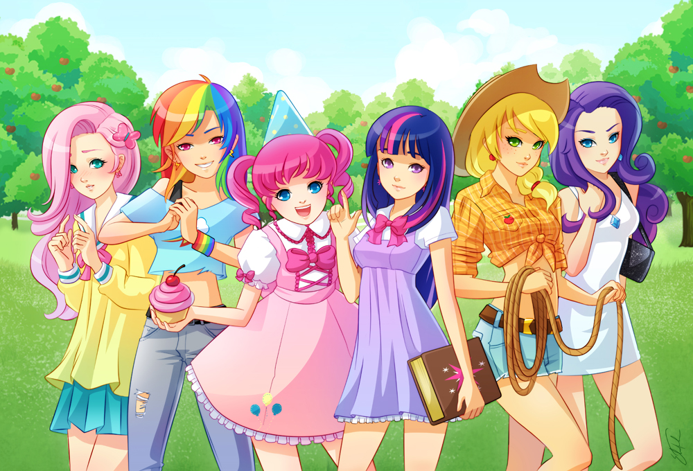 girls from my little pony - My Little Pony Friendship is ...