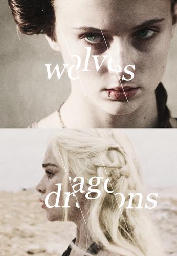 Daenerys Targaryen & Sansa Stark