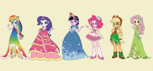 My Little poni, pony - La Magia de la Amistad fondo de pantalla called grand galloping gala dress girls