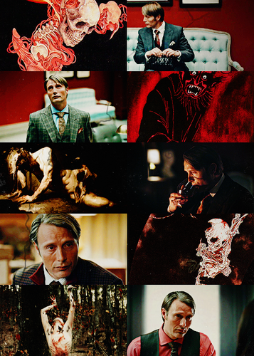 Hannibal Lecter as Hades, God of the Underworld