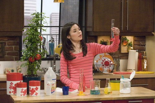 Miranda Cosgrove wallpaper probably containing a kitchen entitled iCarly
