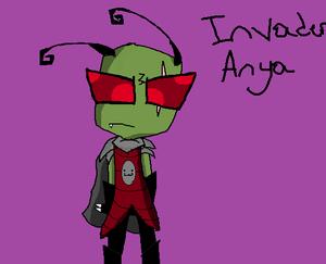 invader Anya