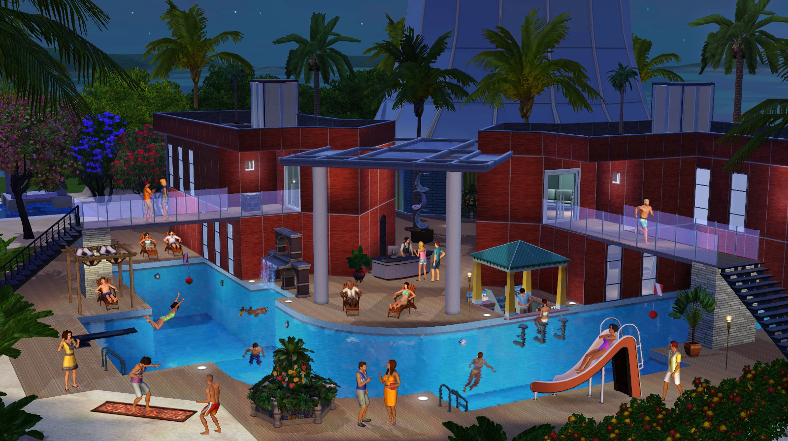 Sims3 island paradise images islan resort hd wallpaper and background photos 35363594 - The sims 3 case moderne ...