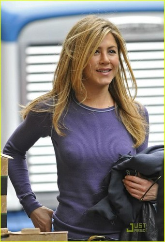 Jennifer Aniston wallpaper probably with tights, a hip boot, and a leotard called jazzy jenn