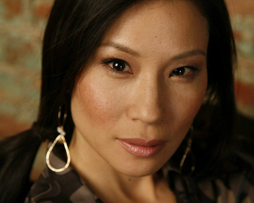 lucy liu wallpaper with a portrait entitled lucyliu