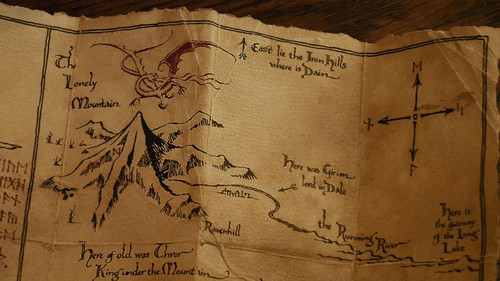 the hobbit an unexpected journey wallpaper called map