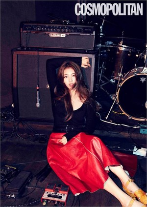 miss A's Suzy for 'Cosmopolitan'