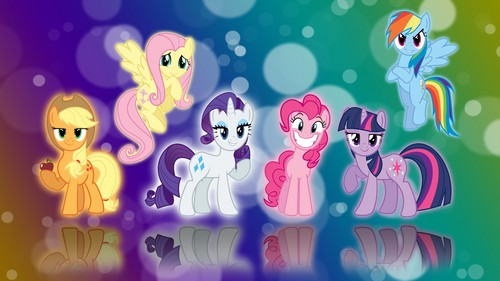 MLP:FiM Characters wallpaper entitled my little pony