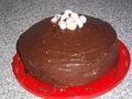 my lovley choc cake - chocolate-cake photo