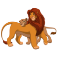 newlyweds - the-lion-king photo