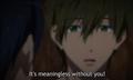 ooo, serious Makoto is serious