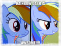 rainbow d - my-little-pony-rainbow-dash fan art