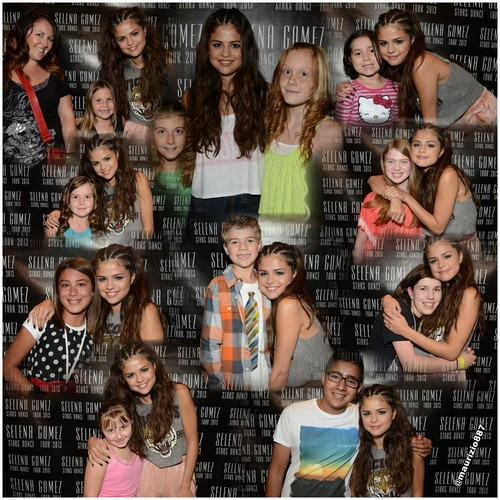 selena gomez Meet & Greet Lethbridge, Edmonton, 2013