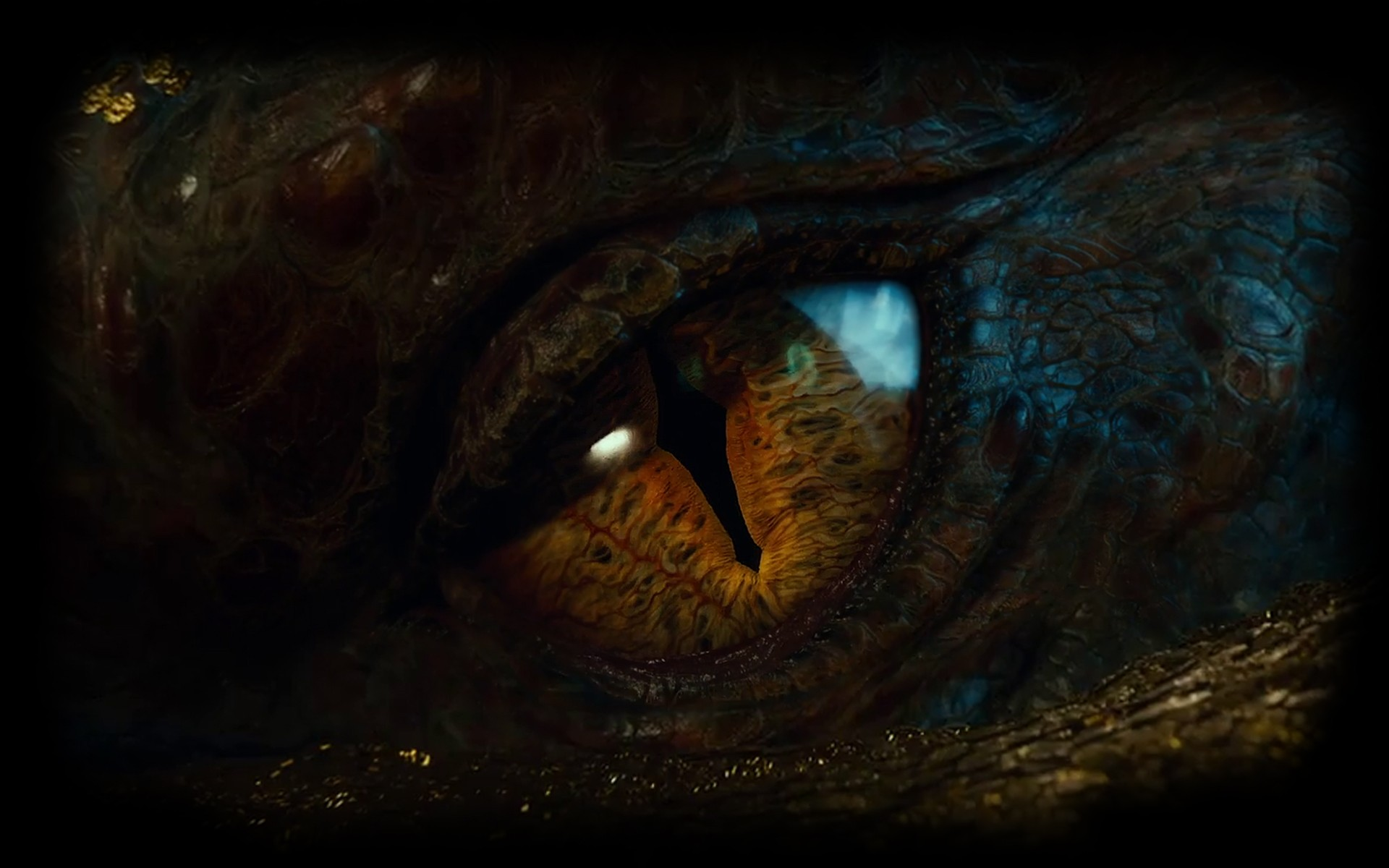 Hd wallpaper eye - Smaug The Hobbit An Unexpected Journey Wallpaper