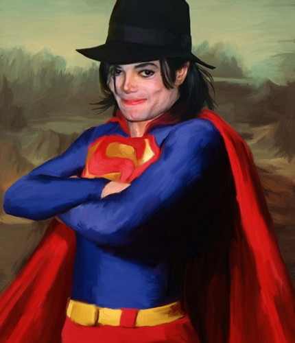 Michael Jackson wallpaper possibly with a surcoat entitled superman