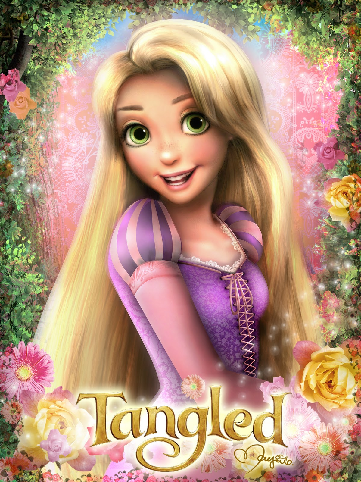 Tangled Images Tangled Hd Wallpaper And Background Photos 35316185