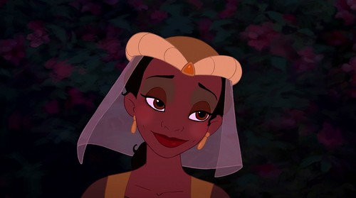 tiana's Moulin Rouge look