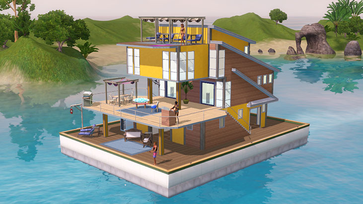 Sims3 Island Paradise Images Yellow Boat Wallpaper And