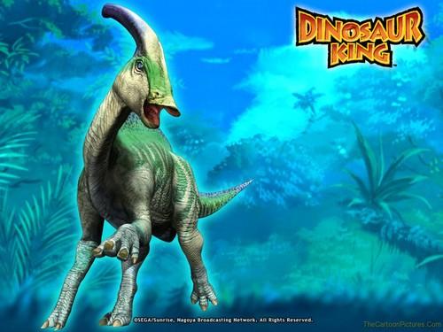 zoe drake's dinosaur parasaurolophus
