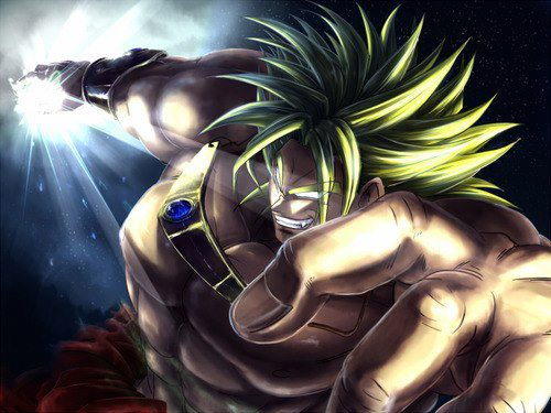 Dragon Ball Z wallpaper entitled *Broly*