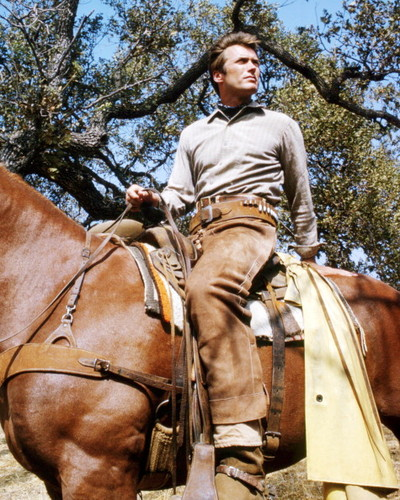 Clint Eastwood wallpaper containing a horse trail, a horse wrangler, and a dressage entitled ★ Clint as Rowdy Yates ☆